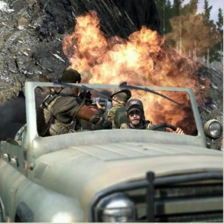 Obrázek mise Jeep ride